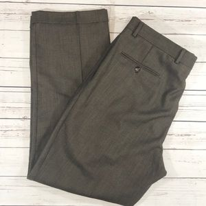 Jos.A.Banks wool dress pants size 37x30 pleated